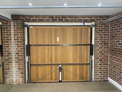"""£2.70 • Buy White Up And Over Garage Door Hormann 7ft 6"""" X 7ft With Electric Remote."""