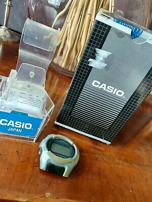 £4.90 • Buy Vintage Casio Alarm Chrono Watch Head Box And Stand And Instructions