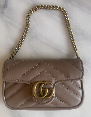 AU1000 • Buy Sold Out Authentic Gucci GG Marmont Coin Purse / Bag