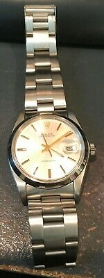 $ CDN6512.03 • Buy ROLEX 16013 14K Gold/Stainless Steel Datejust Circa 1984 Black Dial Oyster