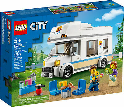 £16 • Buy New! 60283 LEGO City Holiday Camper Van Set With Minifigures 190 Pieces Age 5+