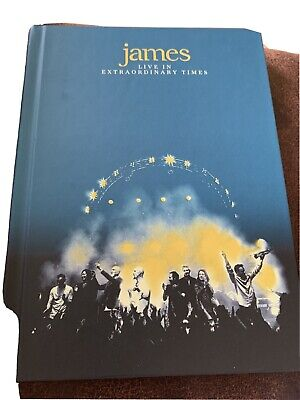 £12.50 • Buy James Live In Extraordinary Times