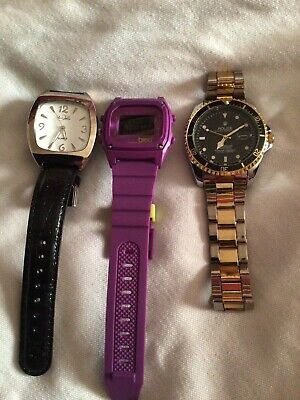 $ CDN12.89 • Buy Job Lot Of 3 Watches For Spares Or Repair