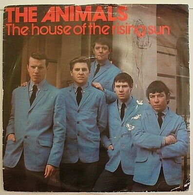 £4.99 • Buy The Animals The House Of The Rising Sun - Three Track Ep  7  Vinyl Ex