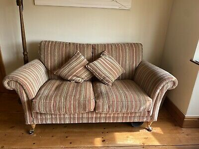 £699 • Buy Parker Knoll Burghley 2 Seater Sofa, Immaculate!  Includes 2 Feather Cushions