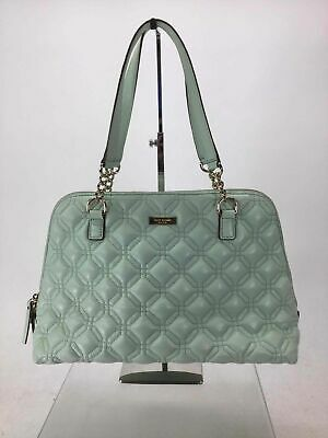 AU66.81 • Buy Kate Spade Mint Quilted Cow Leather Shoulder Bag