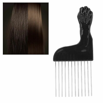 £3.58 • Buy Handheld Afro Hair Pick Lift Comb Long Tooth Curly Hair Comb Mens Oily Hair