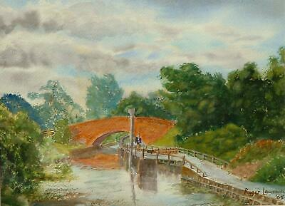 £55 • Buy Chelmer-Blackwater Canal: Watercolour Picture