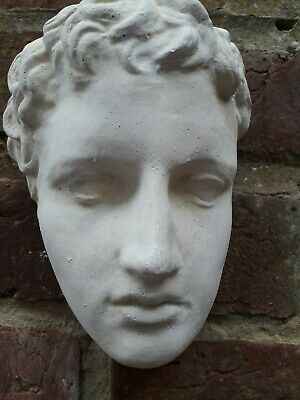 £8.99 • Buy Greek Wall Statue Of A Youth