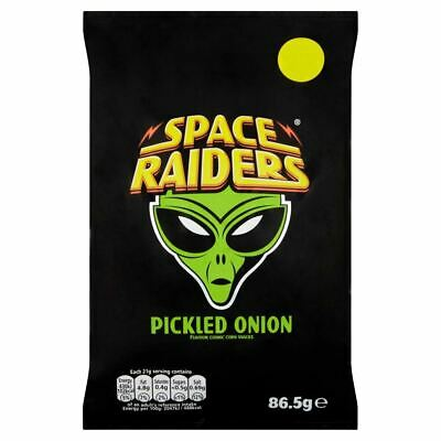 £12.89 • Buy Space Raiders Pickled Onion - 86.5g - Pack Of 6