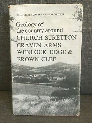 £9.95 • Buy Geology Of The Country Around Church Stretton, Craven Arms, Wenlock Edge Book
