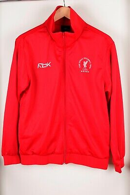 £35 • Buy Liverpool FC Reebok Istanbul 2005 Champions League Red Track Top Size S Small