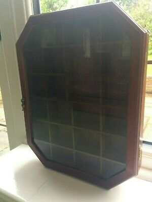 £15 • Buy Vintage Used Display Cabinet For Collectables