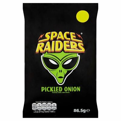 £9.89 • Buy Space Raiders Pickled Onion - 86.5g - Pack Of 4