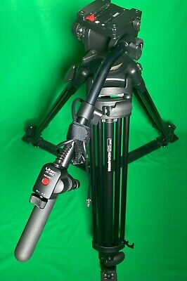 £475 • Buy Manfrotto 545B Tripod With 503 Head Libec Zc 9 Ex Zoom Control And Manfrotto Bag