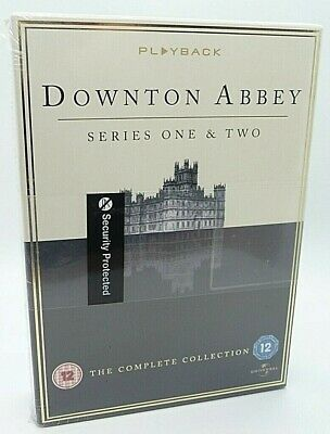 £7.99 • Buy New & Sealed Downtown Abbey Series One & Two Dvd The Complete Collection (d4)