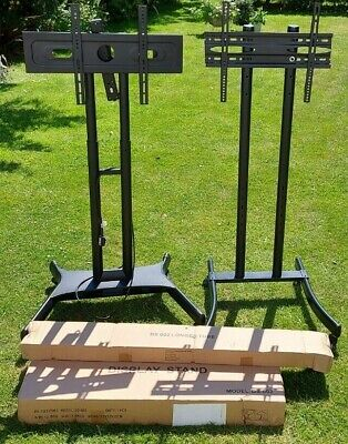 £49.99 • Buy Mobile Monitor TV Display Stand Trolley X 3 - Supports To 65  Screens - 1 BNIB