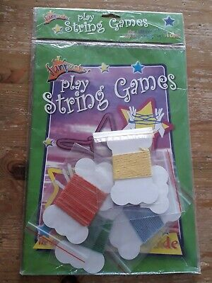 £1.95 • Buy Play String Games Fun Pack Guide Cats Cradle Etc