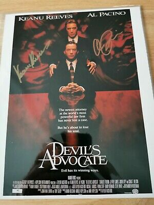 £99 • Buy KEANU REEVES & AL PACINO SIGNED...8x10 WITH COA  RARE.. COLLECTABLE