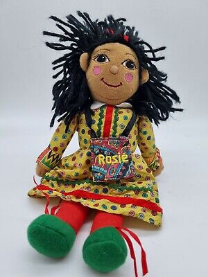 £25.49 • Buy Vintage Rosie From Rosie And Jim Doll  Plush Ragdoll Beanie Rare 1999 Approx 6