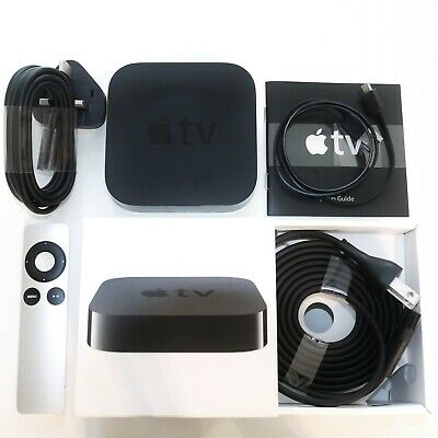 AU104.62 • Buy Apple TV 3rd Gen HD Media Stremaer A1427 MD199LL/A *excellent Condition* BOXED