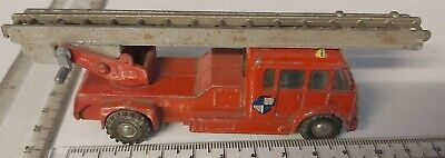 £10 • Buy Budgie Vintage Diecast Toy No. 254 Merryweather Turntable Escape Fire Engine