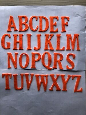 £2 • Buy 26 Felt Alphabet Letters Available In Various Colours