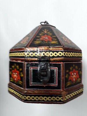 £40 • Buy Octagonal Arts And Crafts Wooden Box