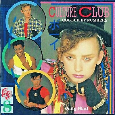 £1.65 • Buy Culture Club - Colour By Numbers -  N/Paper- Music CD  - DM