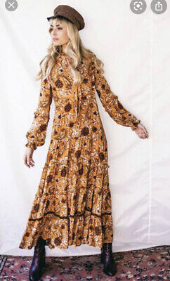 AU200 • Buy Spell And The Gypsy Etienne Gown Sienna Medium