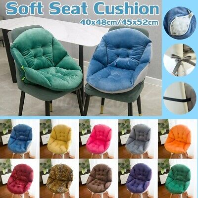 AU27.49 • Buy Soft Seat Pad Mat Chair Cushion Waist Lumbar Support Office Home Comfortable New