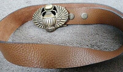 £20 • Buy Zadig & Voltaire Brown Men's Belt * Buffalo Leather * HAMDMADE  * New With Tags