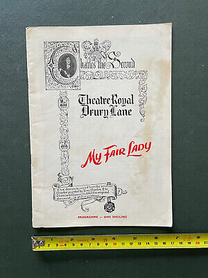 £4.99 • Buy Programme - My Fair Lady 1st Performance At The Theatre Royal Drury Lane 1958
