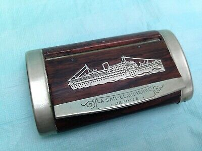 £70 • Buy French Wooden La San Claudienne Deposee Snuff Pill Box