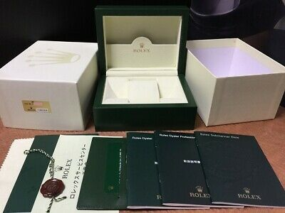 $ CDN438.08 • Buy Genuine Rolex Submariner 116610 Box With Booklet, Tag, Card Holder