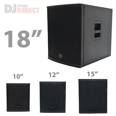 £329 • Buy Citronic Subwoofer 600W Passive Bass Outdoor Garden Music Festival Party Dj PA