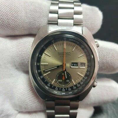$ CDN661.28 • Buy Full Original Vintage Seiko Chronograph 6139-6012 From May 1977 Serviced Gold