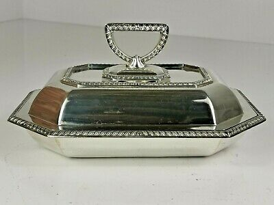 £18.61 • Buy Vintage Silver Plated Entree Dish / Serving Tureen Z. Barraclough & Sons Leeds