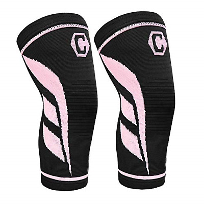$14.86 • Buy CAMBIVO 2 Pack Knee Compression Sleeve, Knee Brace For Women And Men, Knee For