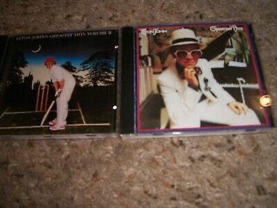 £1.42 • Buy Elton John 2 CD Collection-Greatest Hits Vol 1 & 2-Inserts & Cases-NM