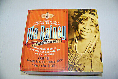 $29.99 • Buy Ma Rainey: Mother Of The Blues, 5-CD Box Set, Remastered Early Blues 1923-1928