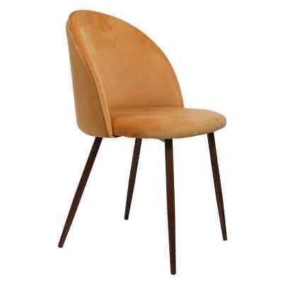 AU163.99 • Buy 2x Dining Chairs Seat French Provincial Kitchen Lounge Chair Mustard