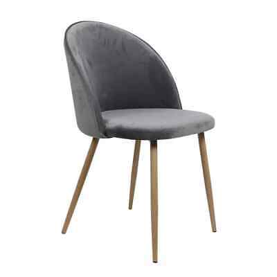 AU162.99 • Buy 2x Dining Chairs Seat French Provincial Kitchen Lounge Chair Grey