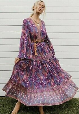 AU150 • Buy Spell And The Gypsy Bianca Maxi Dress, Gown Size Xs, Brand New With Tags