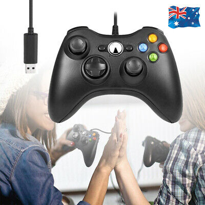 AU22.99 • Buy Wired Controller USB Gamepad With Dual-Vibration Turbo For Xbox One / Windows PC