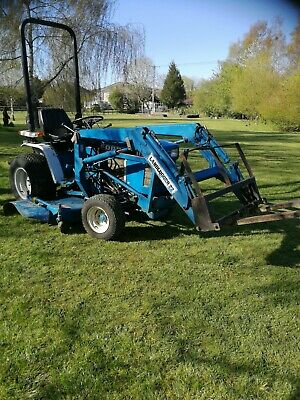 £6995 • Buy Ford 1120 Compact Tractor With Front Loader And Mower Deck