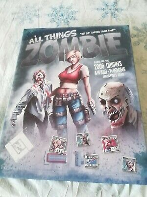 £30 • Buy All Things Zombie Board Game 1st Edition Lock N Load Publishing