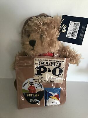 £0.99 • Buy P&O Ferries Heritage Luggage Bear In A Bag