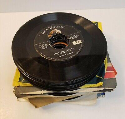 £9.05 • Buy Lot Of (44) Elvis Presley 45RPM Records, Most Are 1950's/1960's