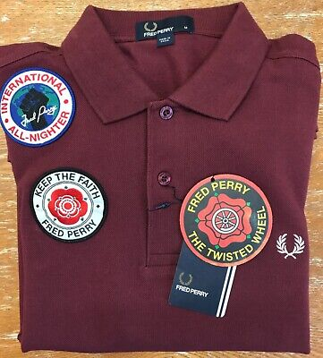 £24.99 • Buy Fred Perry Northern Soul Polo Size M Vintage Style Mods Skins Soulies BNWT NEW